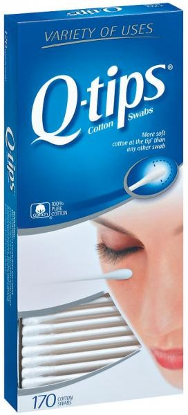 Q-Tips Swabs 170ct