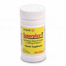 Superplex-T Vitamin Supplement Tablet 100ct