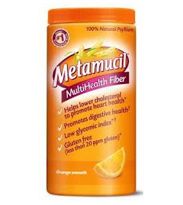 Metamucil MultiHealth Fiber, Orange Smooth With Sugar - 72 Doses - 30.4oz