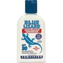 Blue Lizard Sensitive Australian Sunscreen SPF 30+ (5oz Bottle)