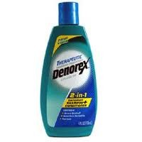 Denorex 2-In-1 Dandruff Shampoo and Conditioner Therapeutic 4 oz.- BACK ORDERED 8-21