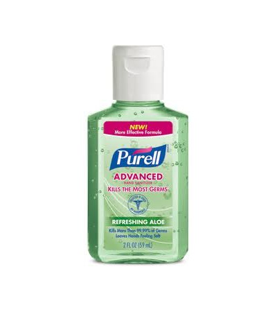 Purell Advanced Hand Sanitizer - Refreshing  Aloe - 2 oz