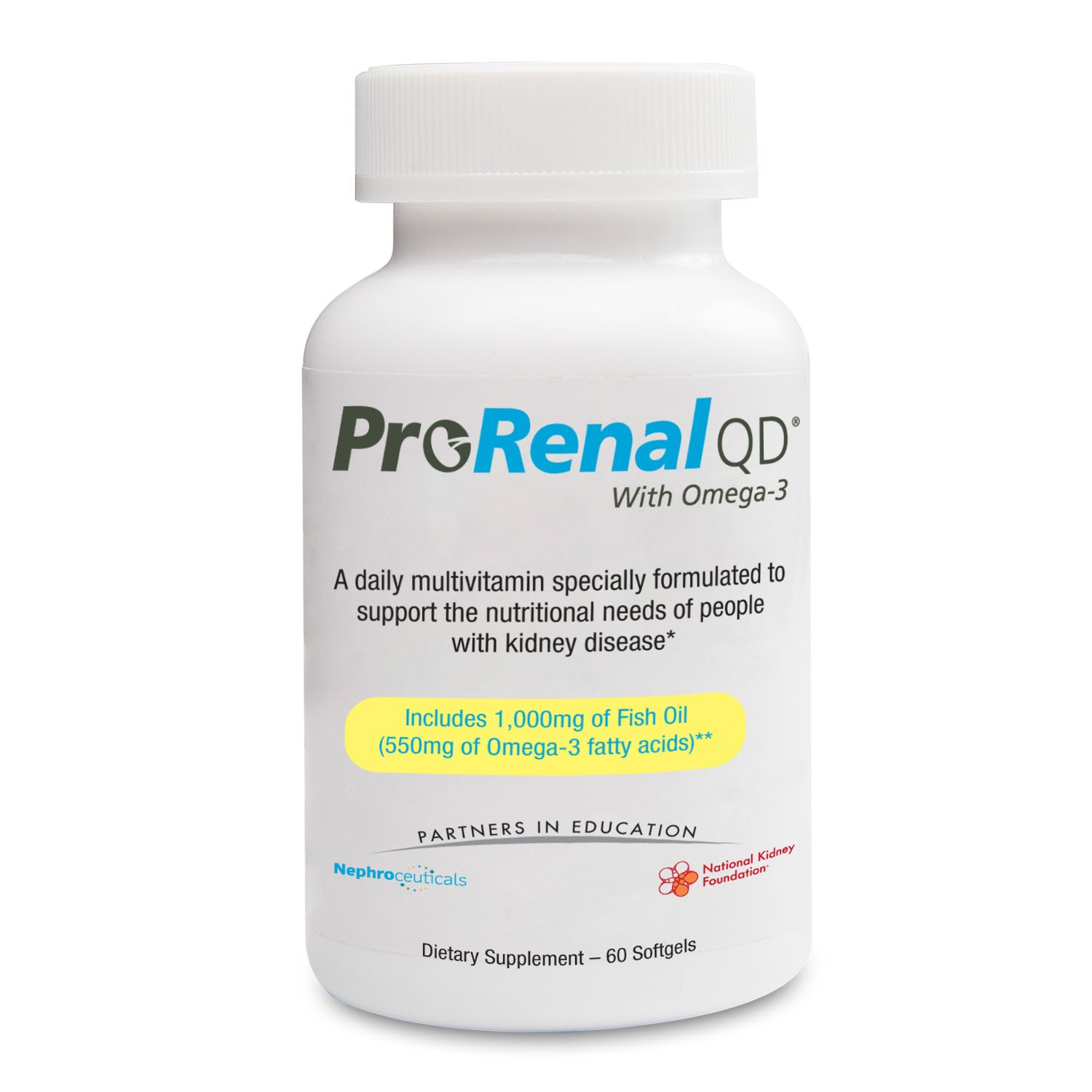 Prorenal QD Dietary Supplement - 30 Tablets
