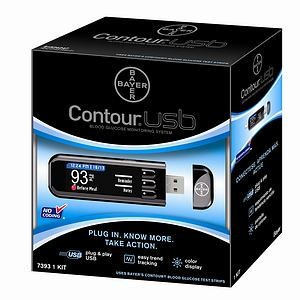 Bayer Contour USB Blood Glucose Monitoring System